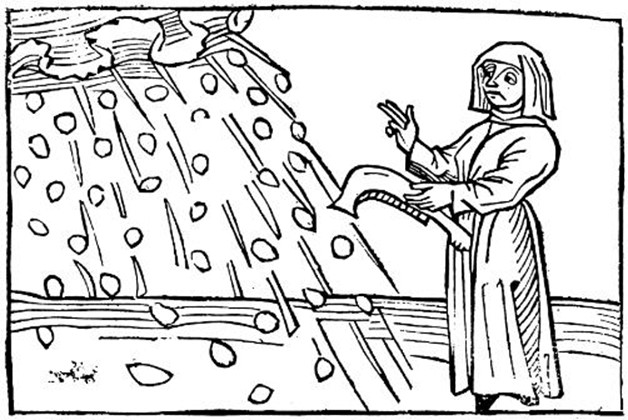 Woodcut from 1486AD
