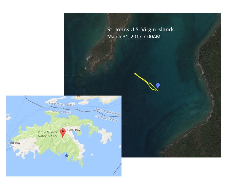 St Johns Drone Flight Map The Second Video Was Shot Over Western Virgin Gorda Island